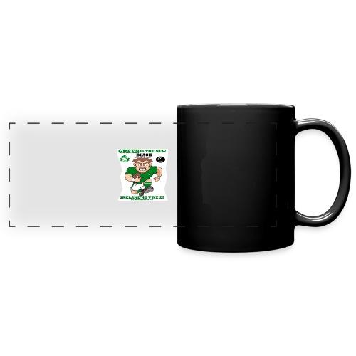 GREEN IS THE NEW BLACK !! - Full Colour Panoramic Mug
