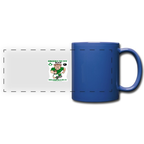 GREEN IS THE NEW BLACK !! - Full Color Panoramic Mug