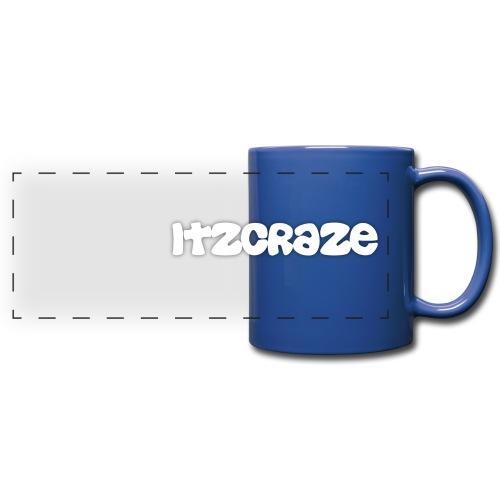itzcraze apparel white png - Full Color Panoramic Mug