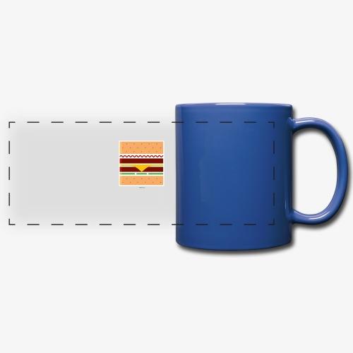 Square Burger - Tazza colorata con vista