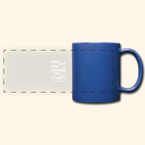 Cartoon Spruch Zitat lustig Geschenk - Full Color Panoramic Mug