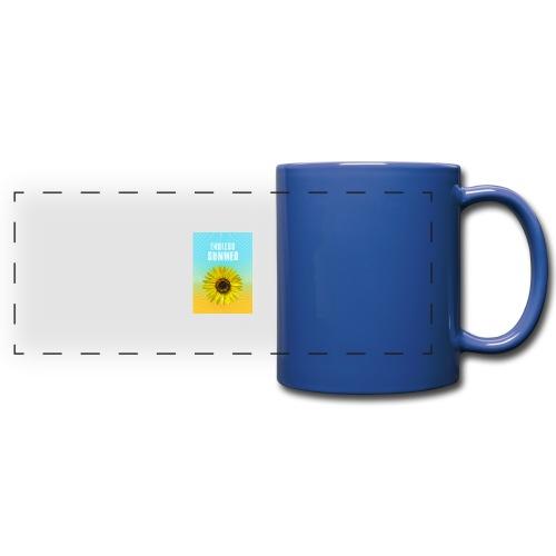 sunflower endless summer Sonnenblume Sommer - Full Color Panoramic Mug