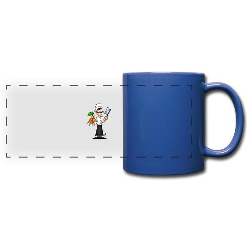 The vegetarian chef - Full Colour Panoramic Mug