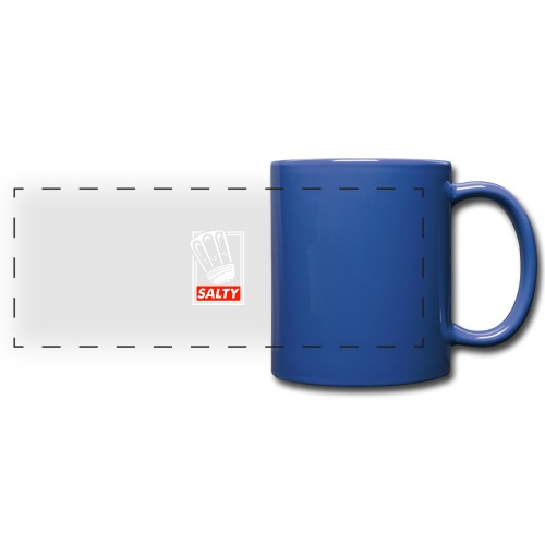 Salty white - Full Colour Panoramic Mug