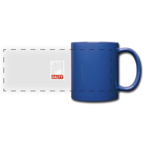 Salty white - Full Colour Panoramic Mug
