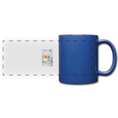 Cubes de Bois - Mug panoramique uni