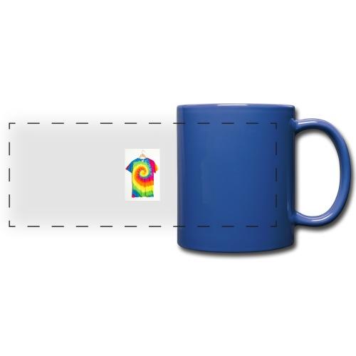 tie die small merch - Full Color Panoramic Mug