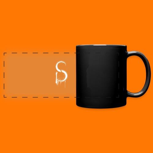 SCP-sign-WHITE transp - Full Colour Panoramic Mug