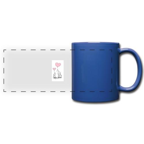 cute elephants - Full Color Panoramic Mug