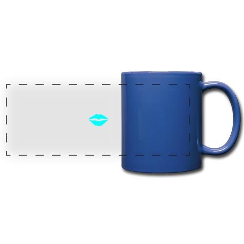Blue kiss - Full Color Panoramic Mug