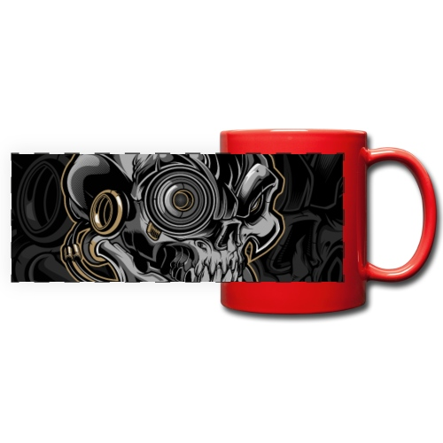 Nareku logo with background - Full Colour Panoramic Mug
