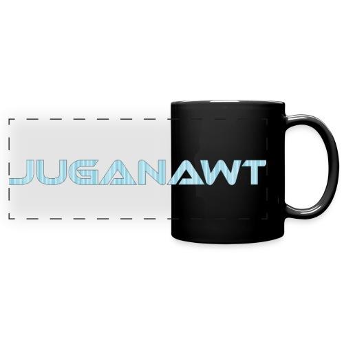 Juganawt Text 4k Res - Full Colour Panoramic Mug