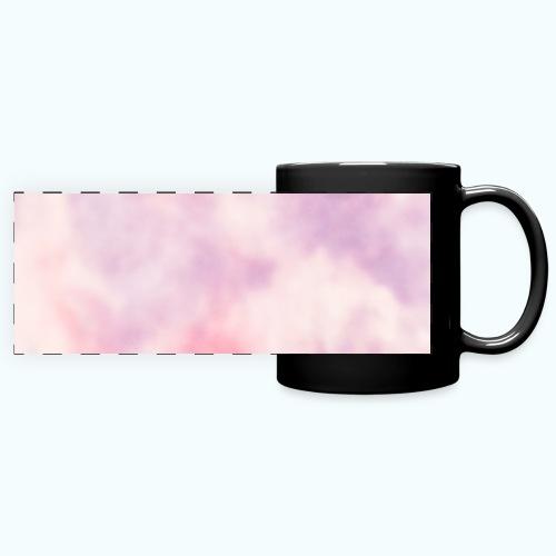 Pink clouds watercolor sky - Full Color Panoramic Mug