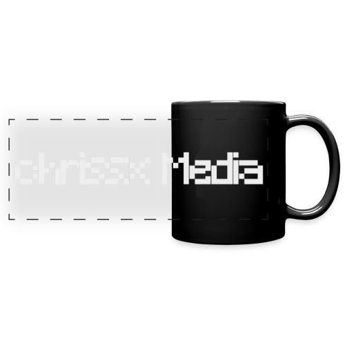 chrissx Media white - Full Colour Panoramic Mug
