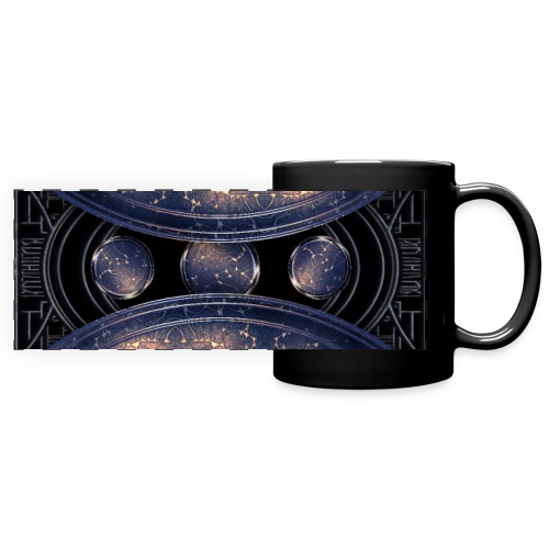 Out of the blue - universe universe - Full Colour Panoramic Mug