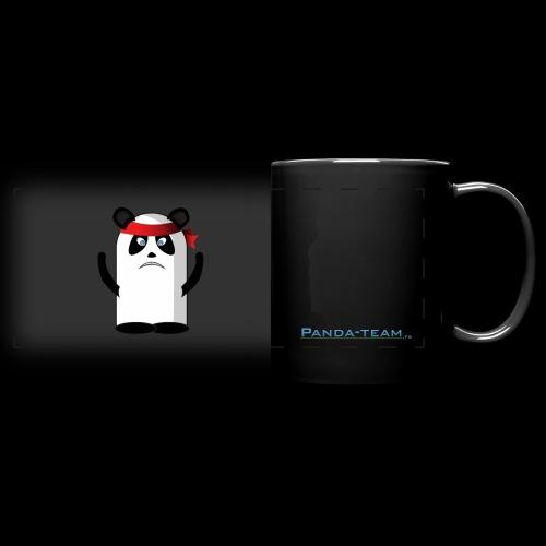 Mascotte panda rambo - Mug panoramique uni