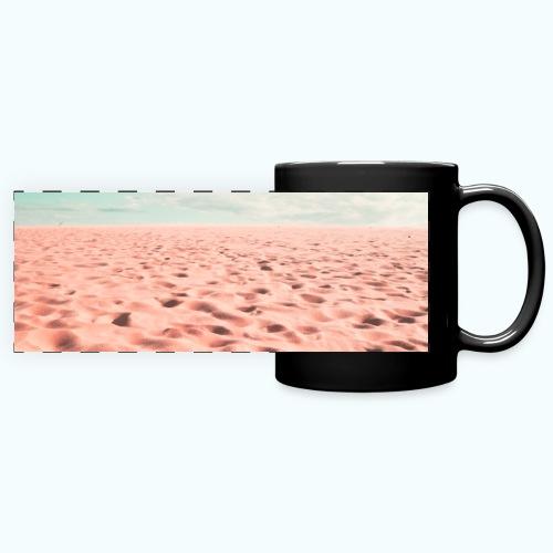 Sand beach minimalism - Full Color Panoramic Mug