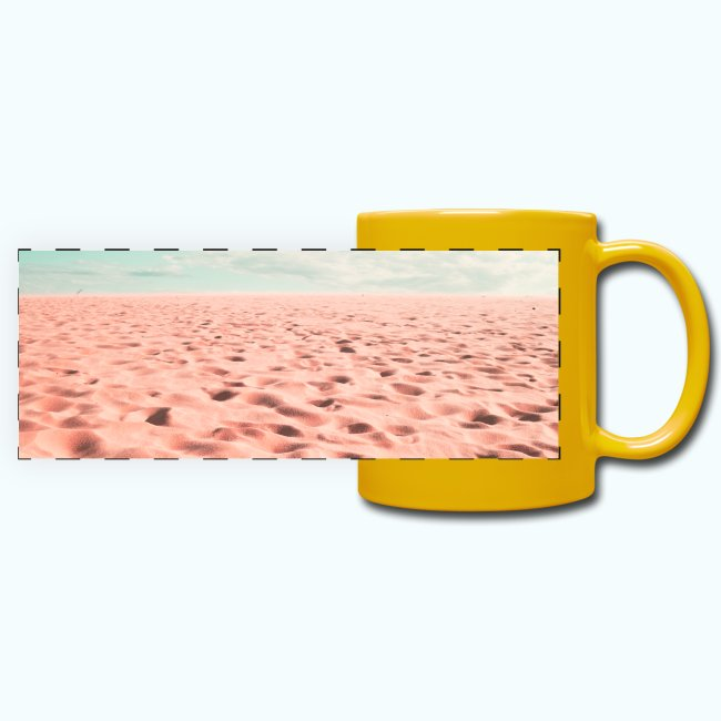 Sand beach minimalism