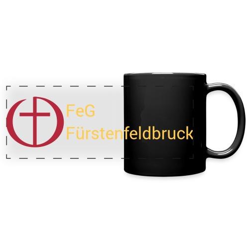 Logo FeG FFB mit Text - Panoramatasse farbig