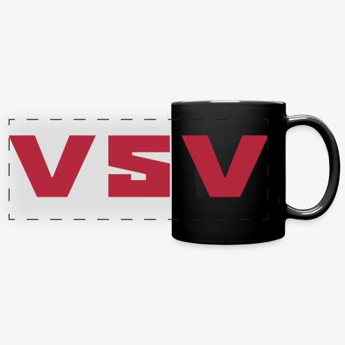 V5V - Färgad panoramamugg