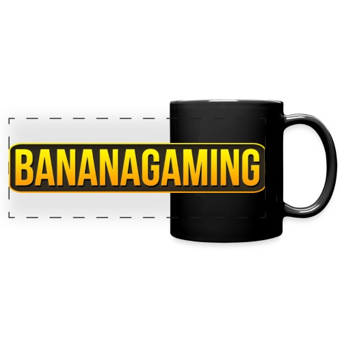 BananaGaming Text Logo 2931x569 png - Full Colour Panoramic Mug