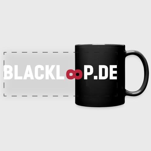 Blackloop - Panoramatasse farbig