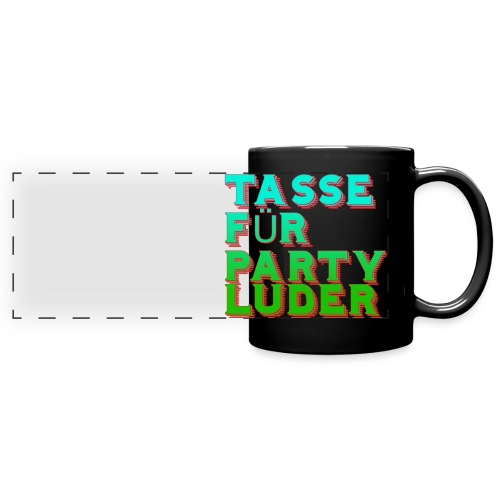 tassefurpartyluder - Panoramatasse farbig