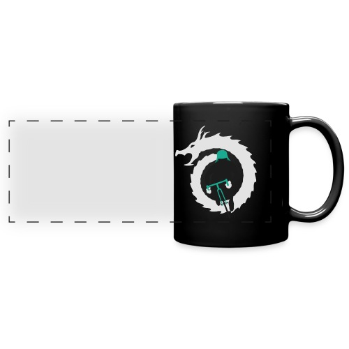 Shirt Green and White png - Full Color Panoramic Mug