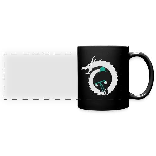 Shirt Green and White png - Full Colour Panoramic Mug