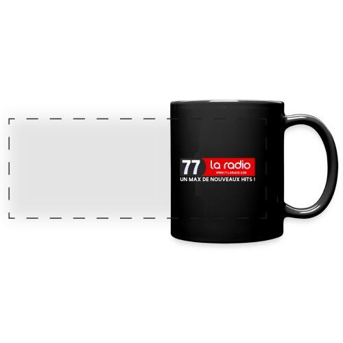 77 recup X White png - Mug panoramique uni