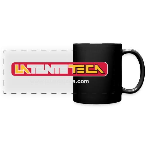 Logo de La TENTEteca - Taza panorámica de colores