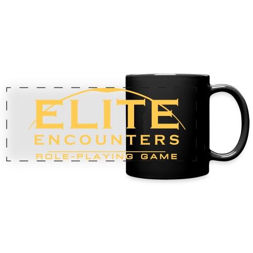 Elite Encounters Mono - Full Colour Panoramic Mug