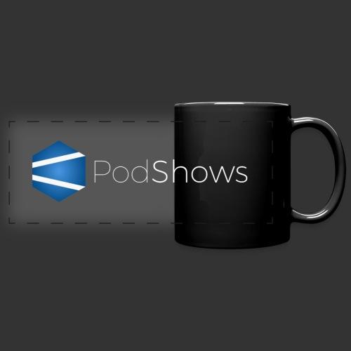 Bannière PodShows 2017 bl - Mug panoramique uni