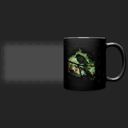 Petit oiseau dans la forêt - Mug panoramique uni