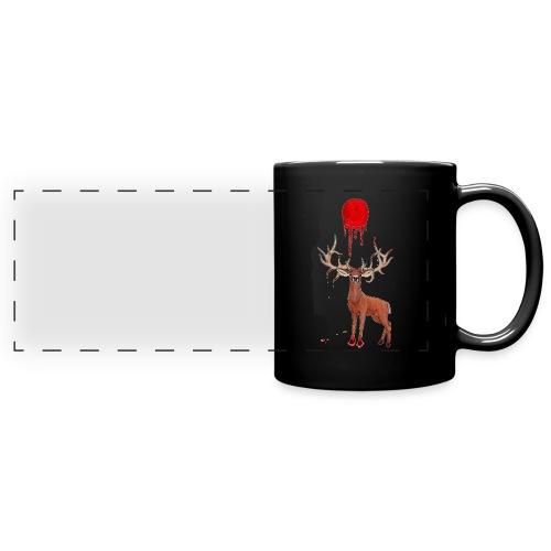 Moon Deer [Dark Version] - Full Colour Panoramic Mug