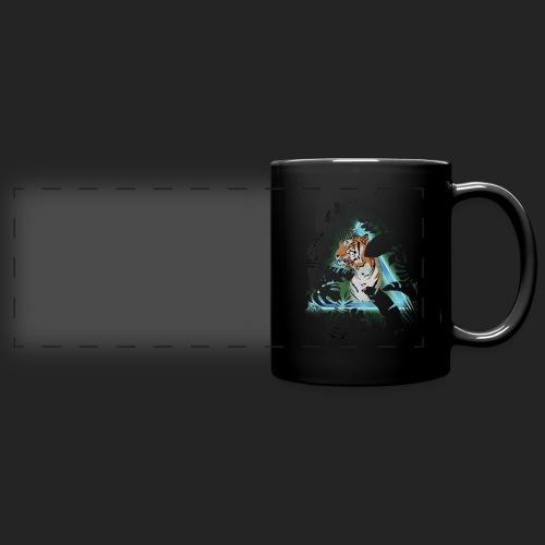 Tigre en soirée - Mug panoramique uni