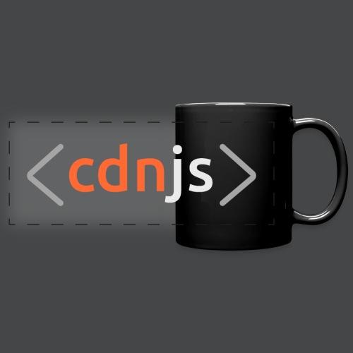 cdnjs Light Logo (Accessories) - Full Colour Panoramic Mug