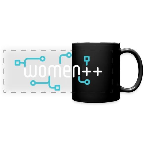 Women++ Black - Mug panoramique uni