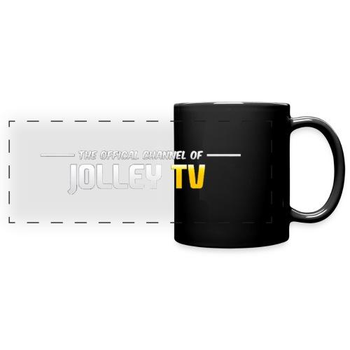 JolleyTV logo - Full Color Panoramic Mug