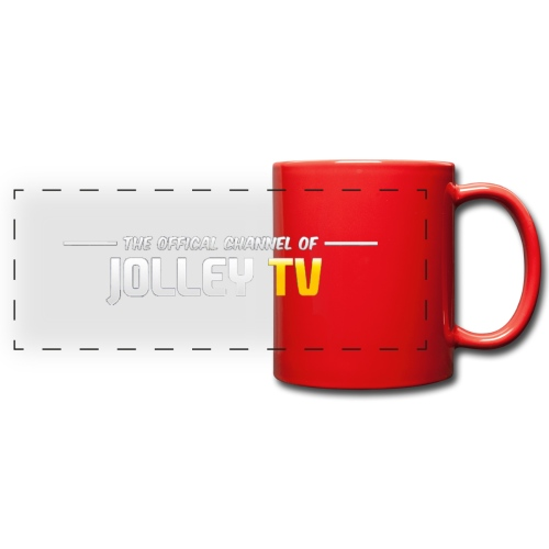 JolleyTV logo - Full Colour Panoramic Mug
