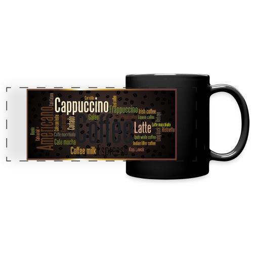 Saveur café - Mug panoramique uni