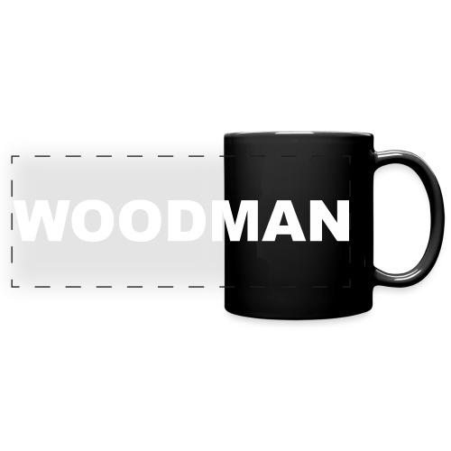 WOODMAN white - Panoramatasse farbig