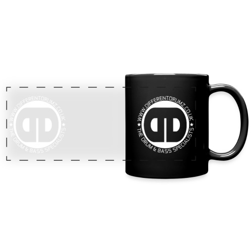 Different Drumz Double Logo 2020 White - Full Colour Panoramic Mug