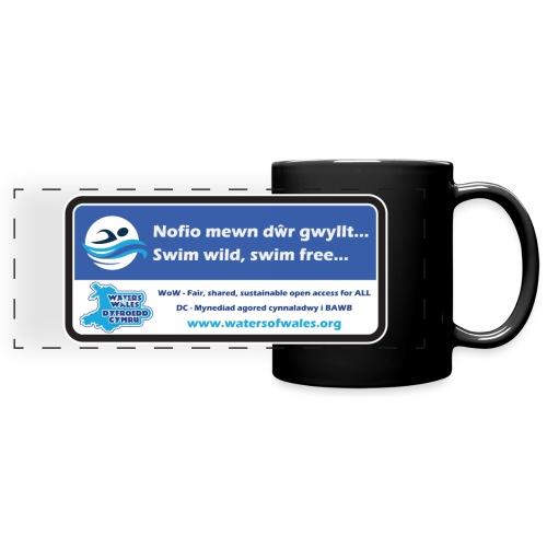 Swim Wilds - Full Colour Panoramic Mug