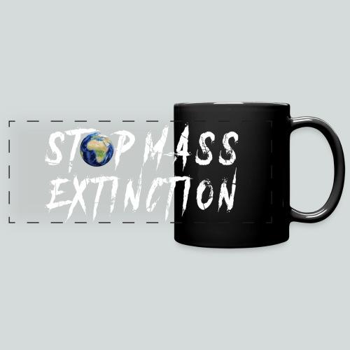 STOP MASS EXTINCTION - Mug panoramique uni