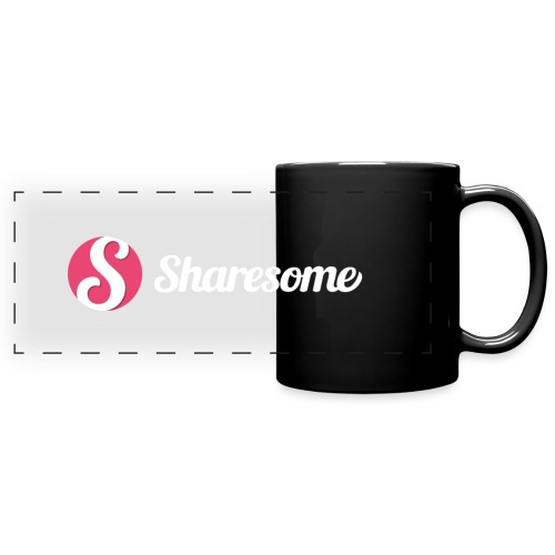 Sharesome logo - Full Color Panoramic Mug