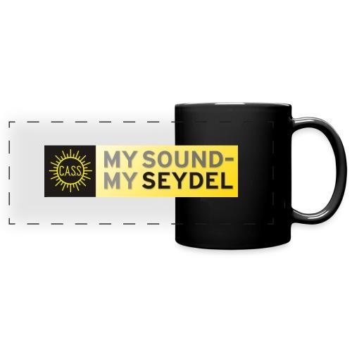 My Sound My Seydel-Logo - Full Color Panoramic Mug
