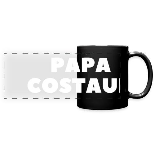 LE SEUL PAPA COSTAUD - Mug panoramique uni