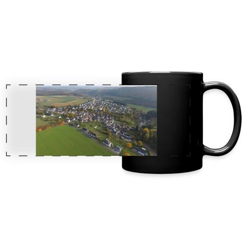 Luftbild Edelsberg - Panoramatasse farbig