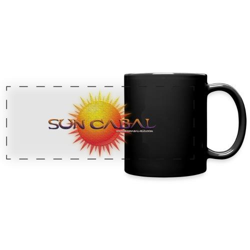SUN CABAL LOGO 4 png - Full Colour Panoramic Mug